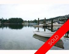 Deep Cove Waterfront Detached House for sale:  4 bedroom  (Listed 2010-04-03)