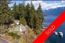 Bowen Island Detached House for sale:  4 bedroom 1,224 sq.ft.